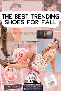 The Best Shoes For Fall! Booties, Knee High Boots, Heels, UGGS, Slip On's, Chunky Boots, Etc