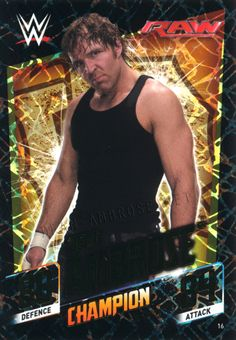 Bruh, whoever made thus card damn make a deck! Wwe Dean Ambrose, Lucha Underground, Wwe Wrestlers, Roman Reigns, Wwe Superstars, Favorite Person, My Man, My Boys, Sexy Men