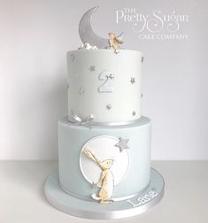 Browse through the different cakes we create here at The Pretty Sugar Cake Company, from Wedding Cakes & Wedding Favours to Celebration Cakes, to Cupcakes & Cookies. Boys 1st Birthday Cake, Baby Boy 1st Birthday, Happy 2nd Birthday, Birthday Ideas, Torta Baby Shower, Baby Shower Cakes For Boys, Baby Boy Christening Cake, Hand Painted Cakes, Sugar Cake