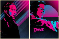 DRIVE poster studies by James White