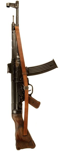 German StG 44, circa. 1944. Considered to be the first assault rifle.