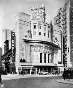 Ziegfeld Theater torn down in 1967--vintage everyday: 48 Beautiful Old New York Buildings That No Longer Exist