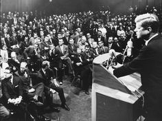 JFK addresses concerns about his Catholicism and his run for presidency--Houston Sept. 12, 1960