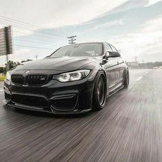 BMW F80 M3 black rain