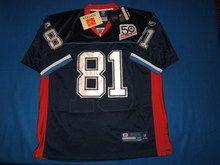 Buffalo Bills #81 Owens jersey (WITH BILLS 50 YEAR PATCH)
