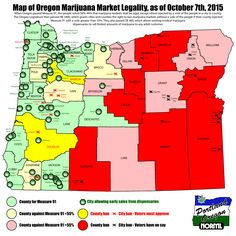 56% of voters statewide decided to pass marijuana legalization in Oregon. But if you live east of the Cascades, there will be no retail outlets for you.