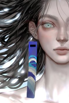 Digital Art Anime, Digital Art Girl, Webtoon, Character Art, Face, Artist, Painting, Beauty, Twitter