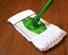 swiffer pad knitting pattern - eco friendly, too