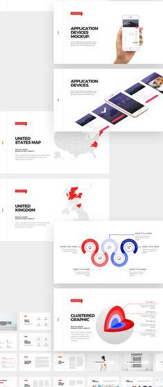 Dublin Design on Behance Presentation App, Business Presentation, Presentation Templates, Professional Powerpoint Templates, Powerpoint Themes, Microsoft Powerpoint, Ppt Design, Layout Design, Graphic Design