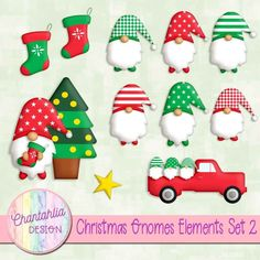 Digital Paper Freebie, Digital Scrapbooking Freebies, Digital Papers, Christmas Gnome, Gnomes, Planner Stickers, Scrapbook Paper, Free Design, Design Elements