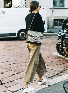 Sunday's Inspiration: Khaki | BeSugarandSpice - Fashion Blog