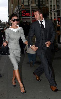 2008 - Victoria & David Beckham - 1 of the most stylish couples!