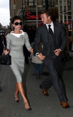 2008 - Victoria & David Beckham - 1 of the most stylish couples!