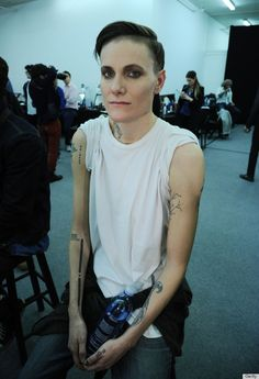 """Legler, who made headlines for being the first woman signed to Ford Models' male division, is featured in the May 2013 issue of Vogue under the headline """"Gender Agenda."""" The article focuses on fashion's newfound propensity for """"gender-flipping"""" and how designers and models are blurring the lines of gender and sex, of male and female. Legler is just the latest example, Vogue writes, following in the footsteps of models like Andrej Pejic, Lea T and Saskia de Brauw."""