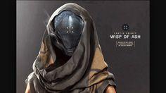 04ca12f365d Wisp of Ash Exotic Helm for Warlocks. Futuristic Art