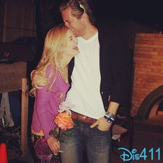 Sweet Photo Of Luke Benward And Olivia Holt
