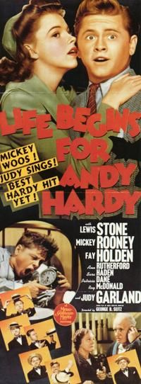 Life Begins for Andy Hardy Movie Poster