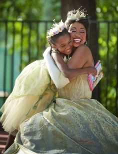 I don't love this movie, but Tiana is beautiful.