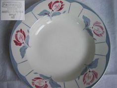 Assiette à soupe ''Provence'' Fan de Digoin