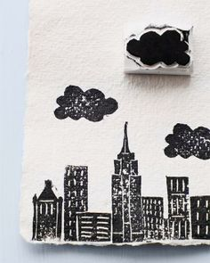 Sweet Paul presents Lova's World: Printmaking & Stamping with Erasers