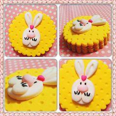 Tavşancık kurabiye.. Rabbit cookie.. She bee pasta&kurabiye  She bee cake&cookie