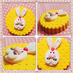 Tavşancık kurabiye.. Rabbit cookie.. She bee pasta&kurabiye  She bee cake&cookie