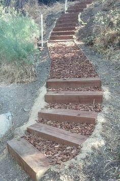 DIY Gartentreppe Ideen