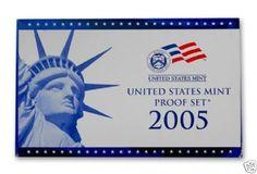 2005-S-United-States-Mint-Proof-Set-11-Coins-COA-OGP