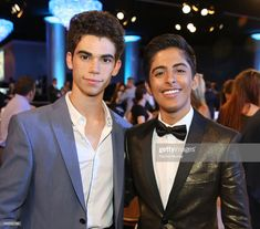 Actors and presenters Cameron Boyce and Karan Brar attend the Annual Thirst Gala at The Beverly Hilton Hotel on June 2016 in Beverly Hills, California. Get premium, high resolution news photos at Getty Images Karan Brar, Actors Then And Now, Cameron Boyce, Best Friendship, The Beverly, Dove Cameron, Jessie, Tv Shows, Celebs