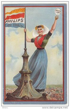 Oude Reclame Philips....Old Advertising Phillips