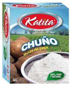 Diseño empaque caja marca KATITA para Chuño