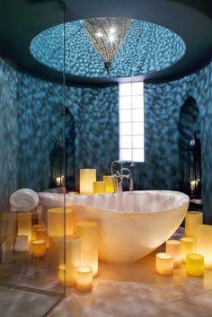 Romantic Master Bathroom Ideas