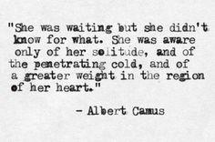 """Albert Camus - """"La Femme adultère"""" in """"L'Exil et le Royaume"""" (1957)"""
