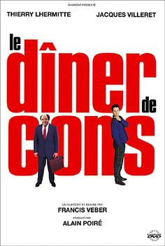 le diner de cons - comedy movie poster for the home theatre. Movies And Series, Cult Movies, Top Movies, Indie Movies, Comedy Movies, Action Movies, Films Cinema, Cinema Posters, Movie Posters