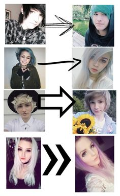 """""""A year later"""" by kylethevampire ❤ liked on Polyvore featuring beauty"""
