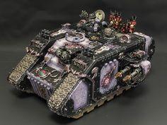 Emperor's Children Landraider #40K #Chaos