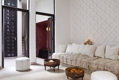 You're invited to take a tour of P'tit Habibi in Marrakech, a Moroccan boutique hotel with luxurious style.