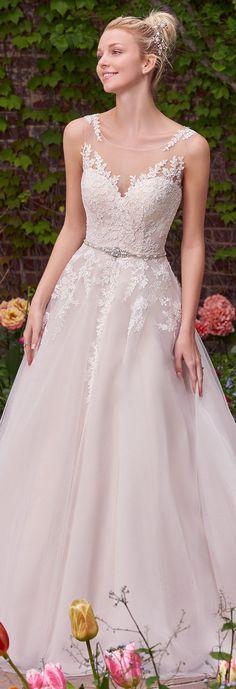 Wedding Dress by Rebecca Ingram - Hope   Less than $1,000   #rebeccaingram #rebeccabride