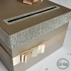 Złote pudełko na koperty
