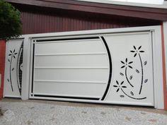 New sliding garage door entrance 58 ideas Home Gate Design, Grill Gate Design, House Main Gates Design, Steel Gate Design, Front Gate Design, Door Design Interior, House Design, Compound Gate Design, Gate Designs Modern