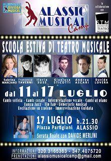 Claudia Grohovaz: ALASSIO MUSICAL CAMP - Scuola estiva di teatro mus...
