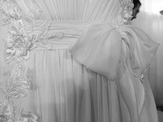 #Weddingdress #details #AnnaTumas Dettaglio abito in esposizione presso #RomaSposa2014 - Palazzo dei Congressi  #abitidasposa