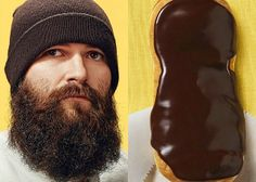 Donut Look-A-Likes Strange Donuts, a project by photographer Brandon Voges and advertising agency The Marlin Network. Portraits of people an...