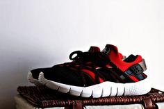 new products afc93 4a5e2  womens  running  shoes Nike Air Huarache NM Crimson Black Nike Running  Shoes Women
