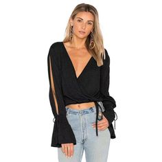 2018 Women Sexy Blouse Casual deep v neck petal Sleeve tie up hollow out Tops Shirts Spring Summer Womens short Blusas. Yesterday's price: US $13.40 (11.00 EUR). Today's price: US $7.24 (5.92 EUR). Discount: 46%.