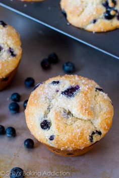 Just made these this morning, using recipe as is.  SO good! Will definitely make again and be trying more of her recipes as well.  ---Bakery Style Jumbo Blueberry Muffins