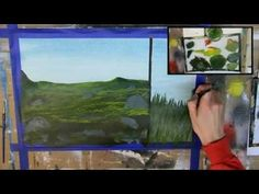 How to Paint Grass: 6 Different Ways (Acrylic Painting Tutorial) - YouTube