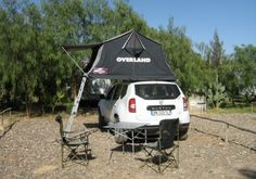 Tente de toit sur Dacia Duster