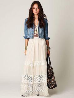 Сарафаны длинные с чем носить