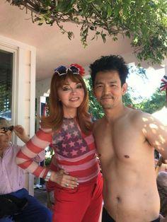 John Cho in vacation